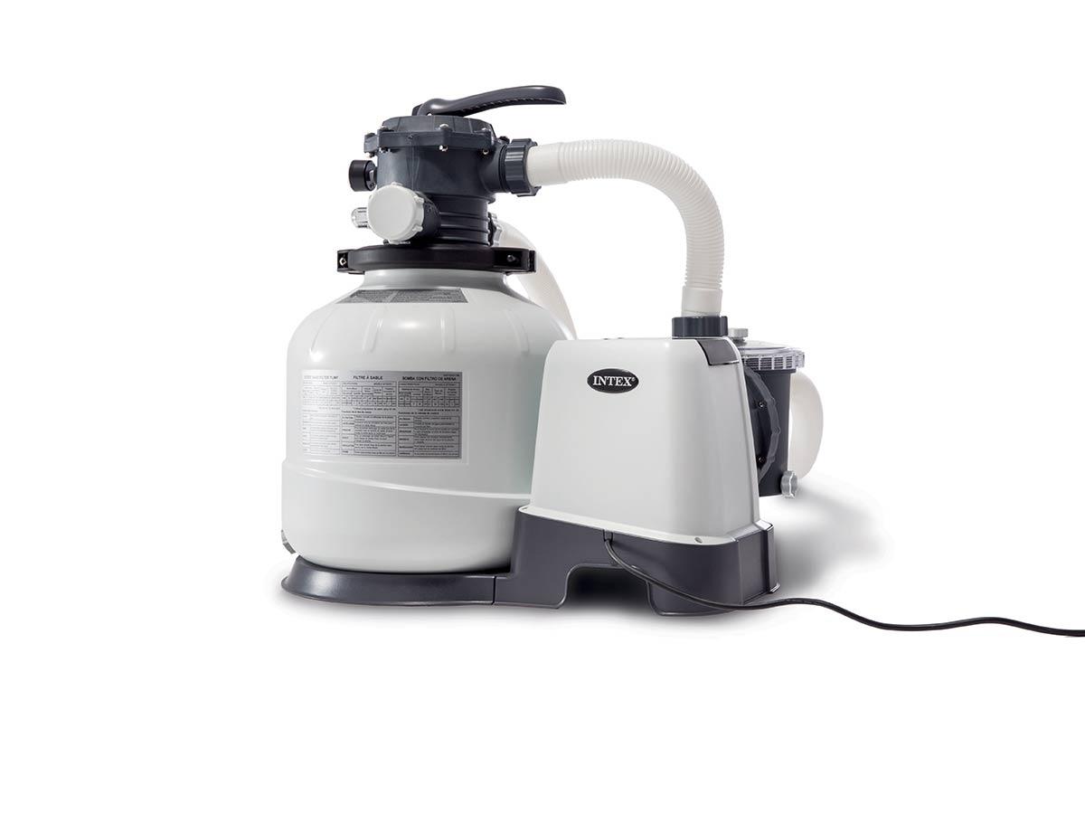 Groupe De Filtration À Sable 8 M³/h - Intex - destiné Pompe Pour Piscine Intex