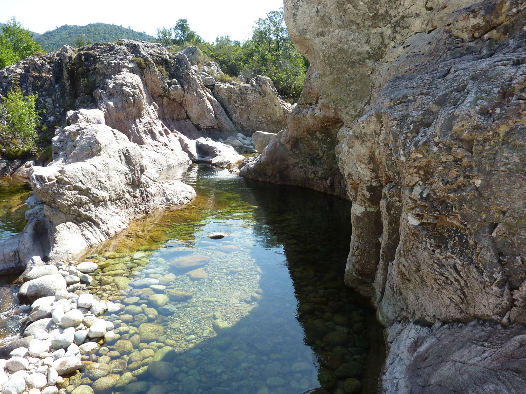 Guagno Les Bains - Bebetricot avec Piscine Naturelle D Eau Chaude Corse Du Sud