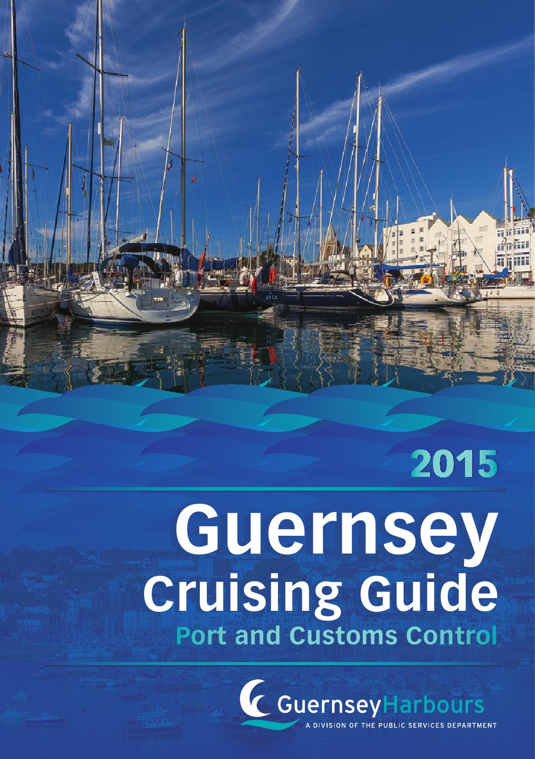 Guernsey Cruising Guide, Port And Customs Control 2015 By ... concernant Piscine Du Port Marchand