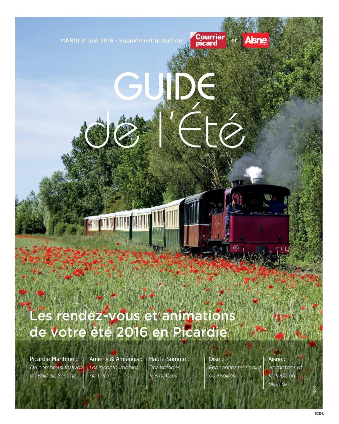 Guide De L'été 2016 By Picardie Médias Publicité - Issuu concernant Piscine Doullens