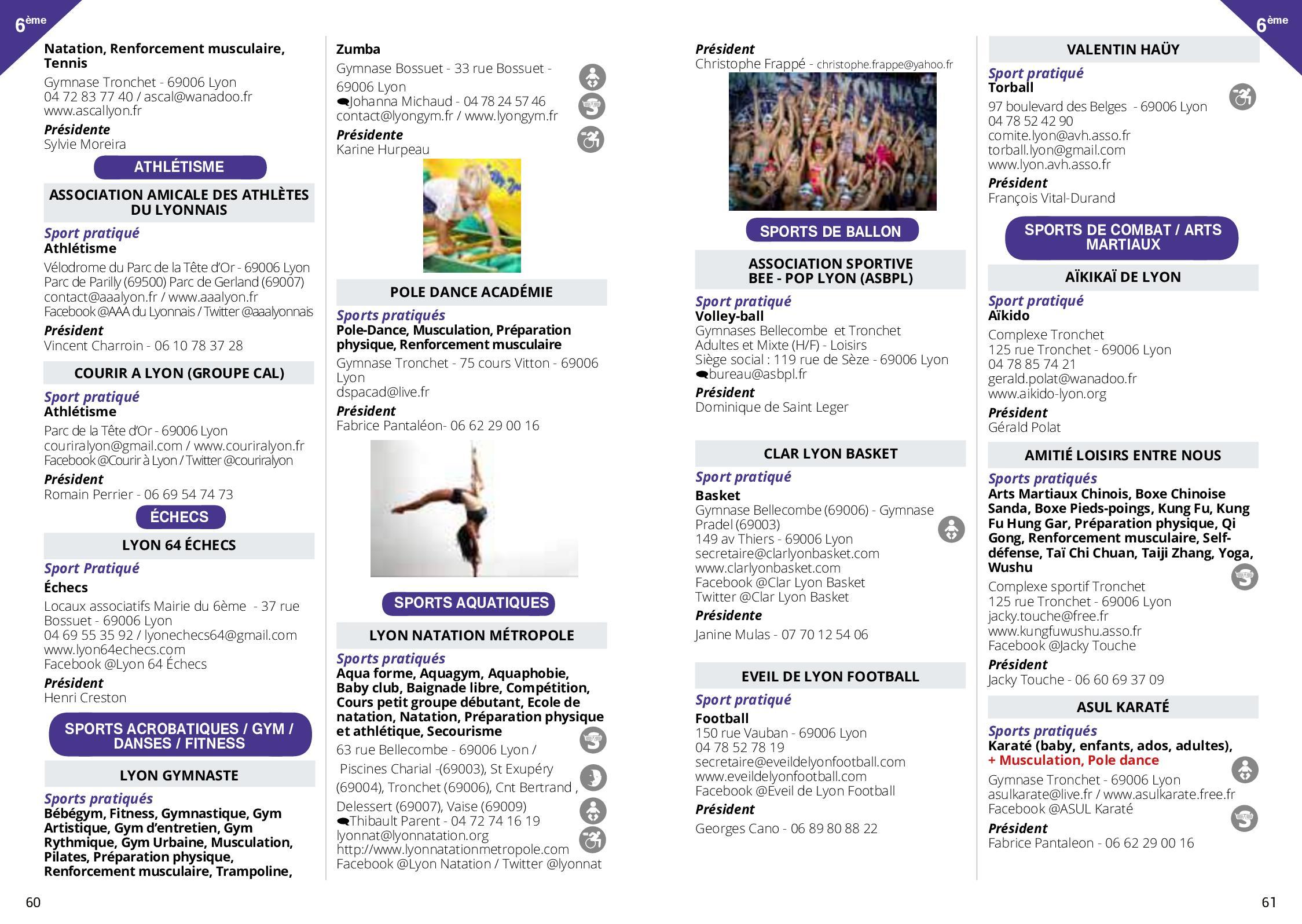 Guide Des Sports De Lyon 2018 2019 - Calameo Downloader concernant Piscine Charial