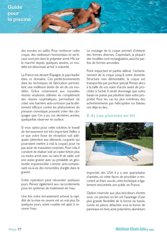 Guide Meilleur Choix Piscine Les Bonnes Questions À Se Poser ... tout Dimension Piscine Non Imposable