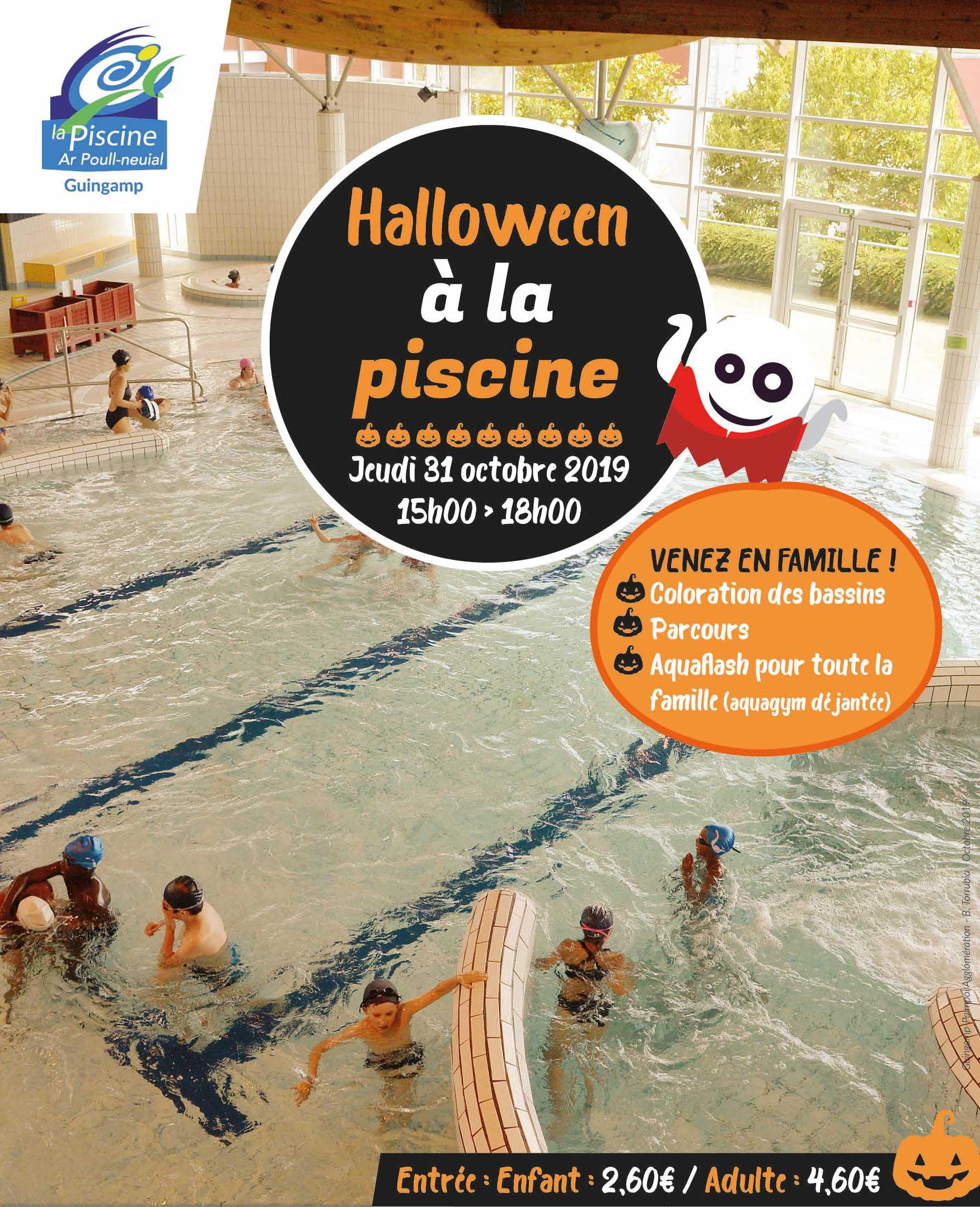 Halloween À La Piscine De Guingamp - Guingamp-Paimpol ... tout Piscine Guingamp