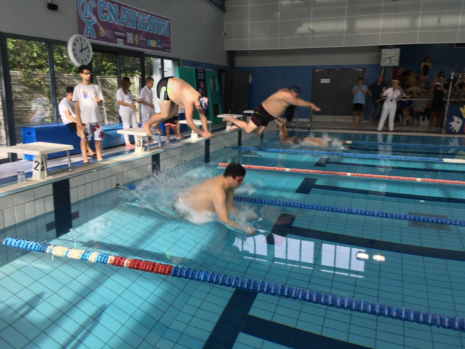 Handisport | Sport Adapté : 55 Nageurs Réunis À Avignon Pour ... avec Piscine Stuart Mill