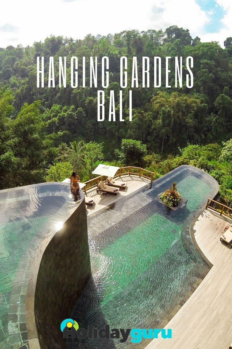 Hanging Gardens Bali : Piscine Suspendue Au Milieu De La ... à Piscine Suspendue
