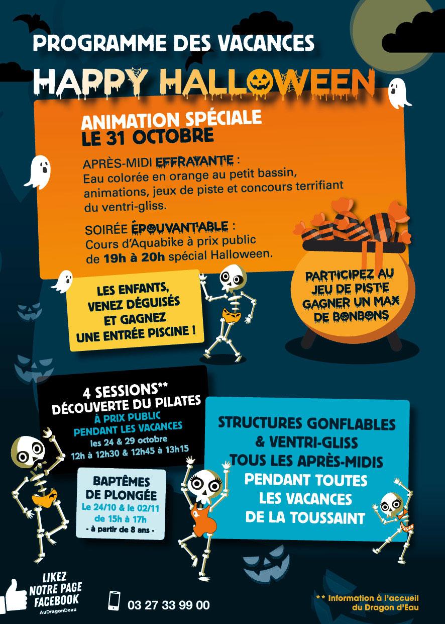 Happy Halloween - Saint Amand Les Eaux - Tlvi à Piscine St Amand Les Eaux