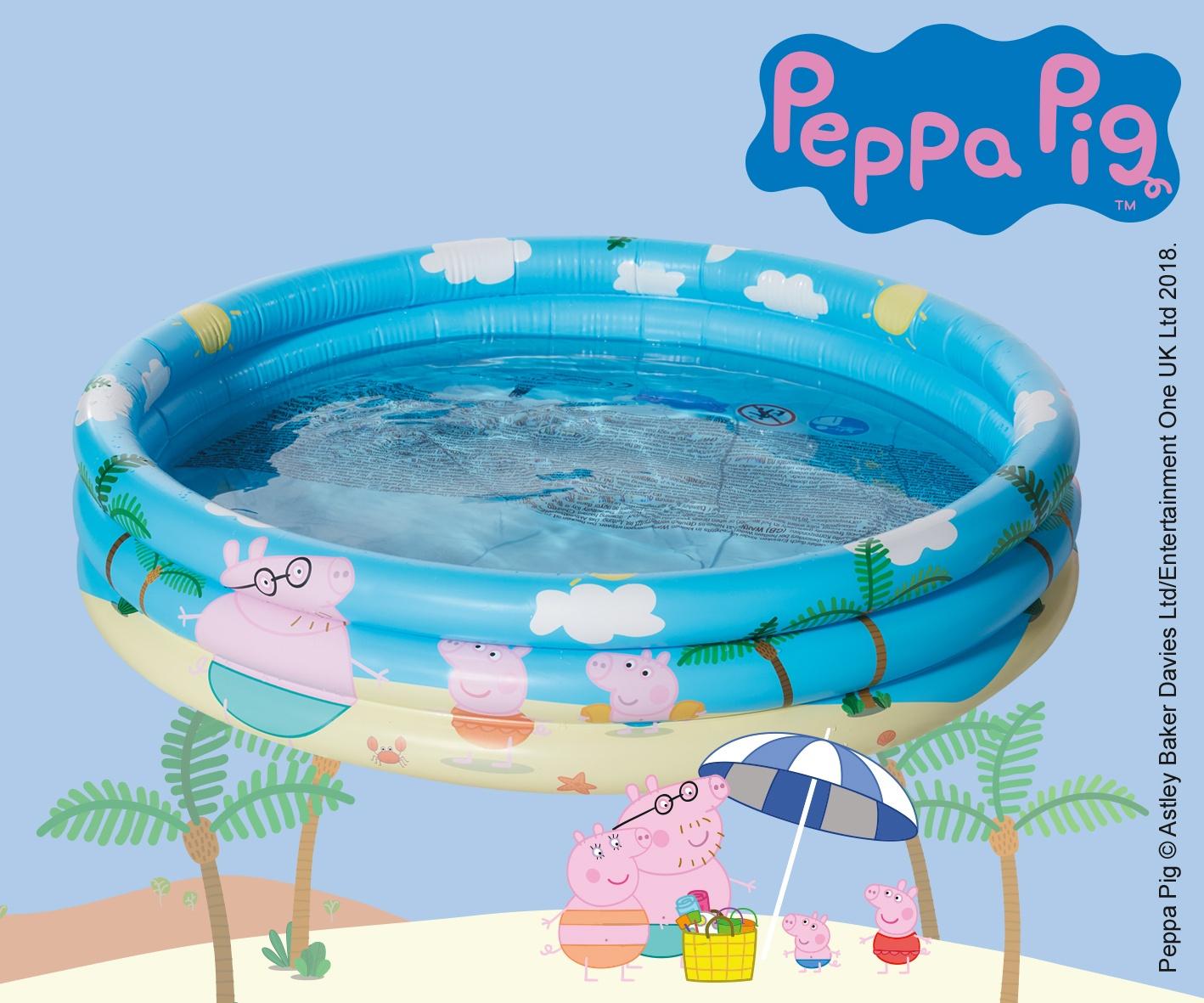 Happy People Inflatable Pool Paw Patrol150 X 25 Cm Blue ... pour Peppa Pig À La Piscine