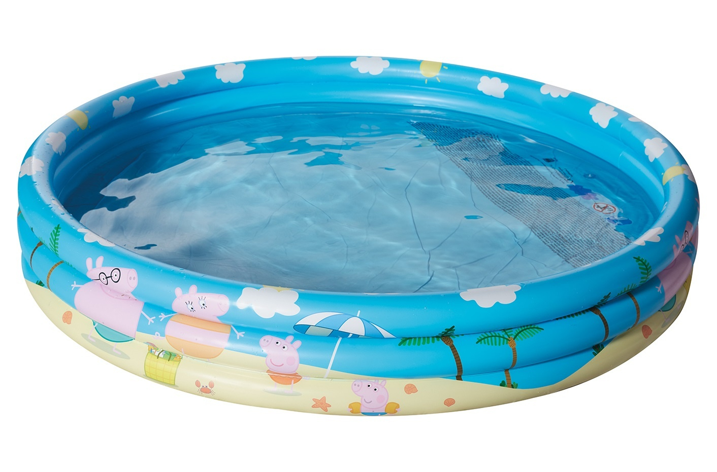 Happy People Piscine Gonflable Peppa Pig150 X 25 Cm Bleu ... à Piscines Gonflables