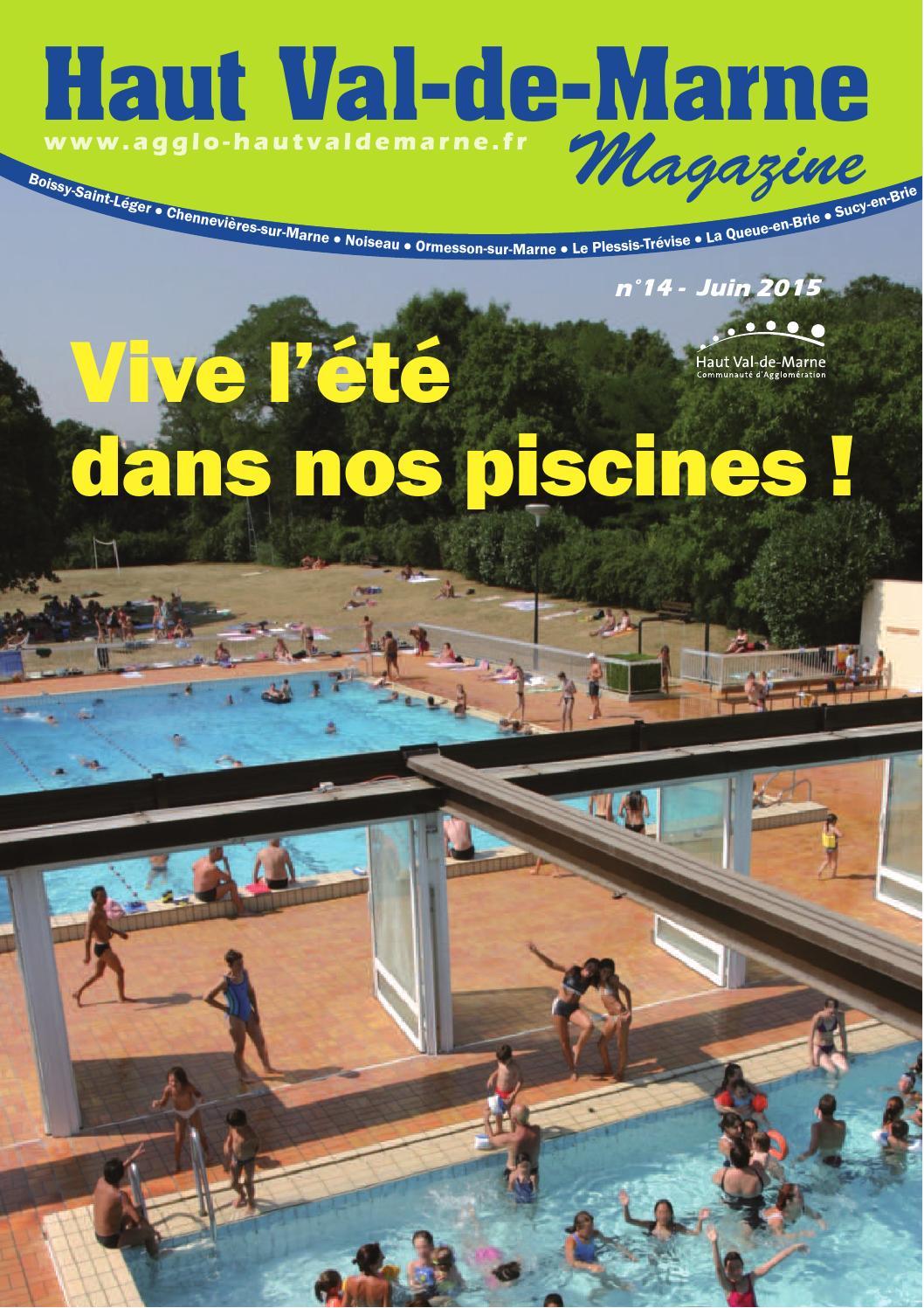 Haut Val-De-Marne Magazine By Cahvm - Issuu destiné Piscine De Sucy En Brie