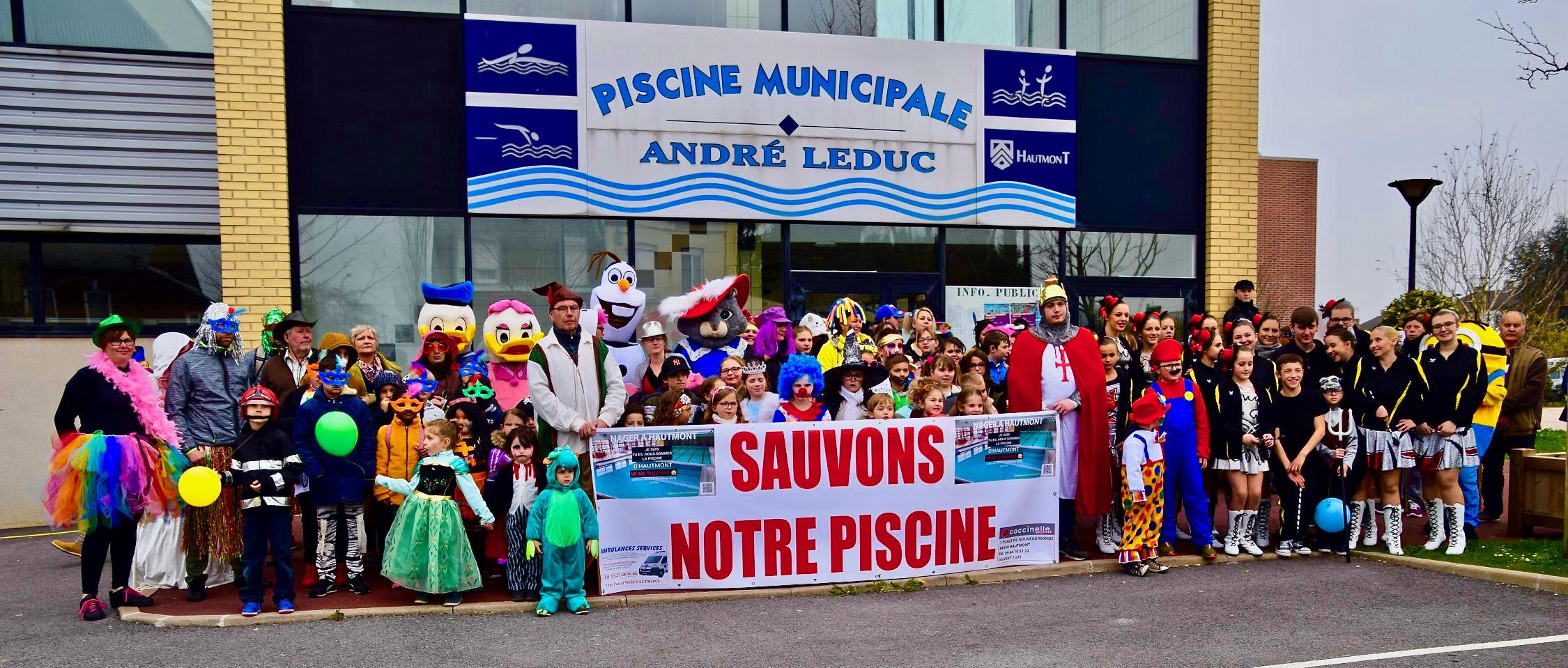 Hautmont: Le Carnaval Eau'mont Défile Pour Sauver La Piscine ... destiné Piscine Hautmont