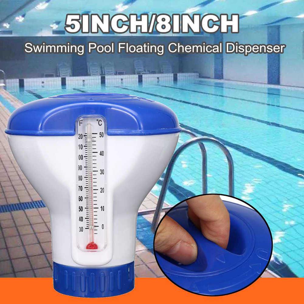 Havuz Aksesuarları Yüzen Kimyasal Klor Dağıtıcı Otomatik ... intérieur Filtre Piscine Bestway Type 2