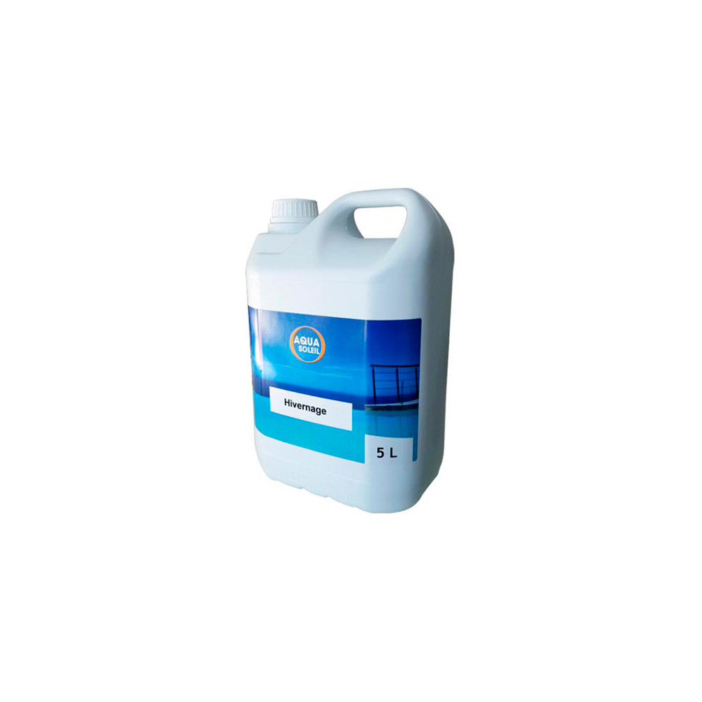 Hivernage Piscine Algicide Bactéricide Et Anti Calcaire 5 L ... dedans Anti Calcaire Piscine