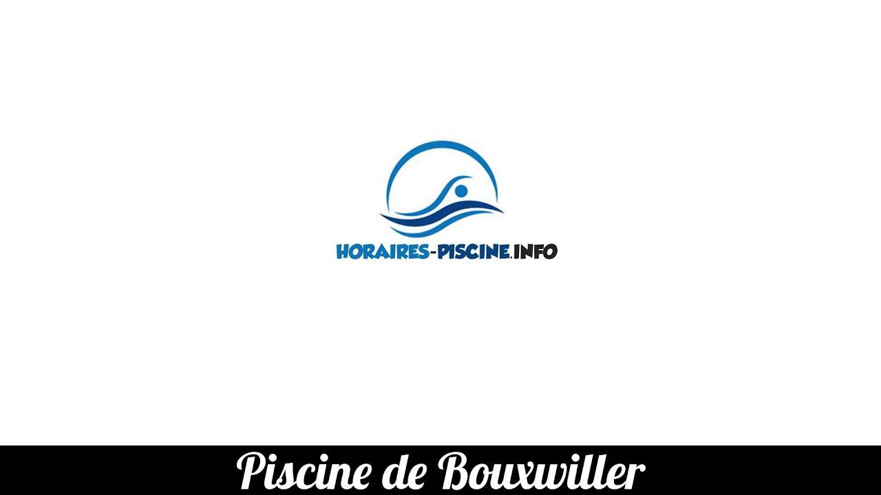 Horaires Piscine De Bouxwiller dedans Piscine Bouxwiller