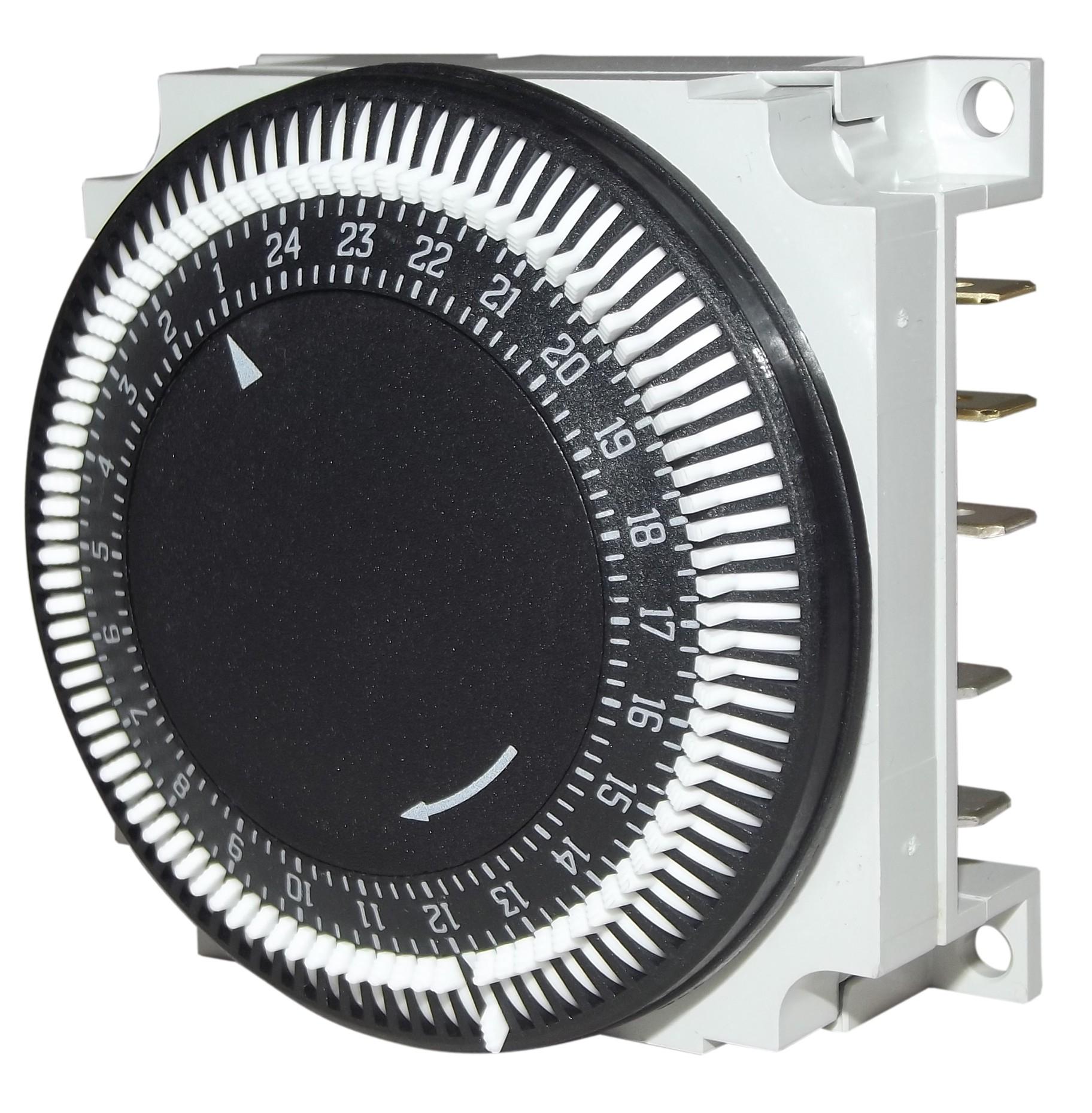Horloge Grasslin Encastrée Type Polux Pour Meteor pour Programmateur Piscine