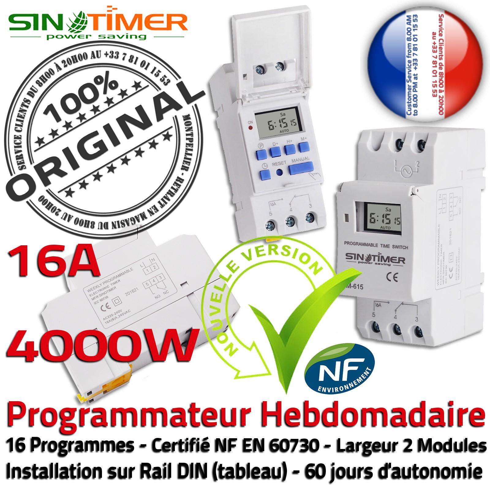Horloge Rail De Programmation Pour Piscine Piscines Et Bains ... serapportantà Programmateur Piscine