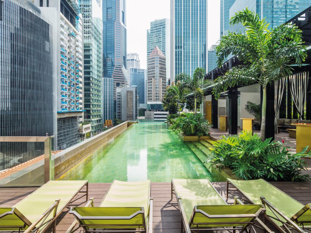 Hotel De Luxe Singapour – So/ Sofitel Singapore pour Piscine Singapour