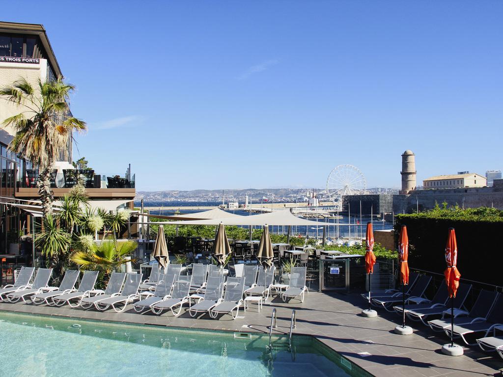 Hotel In Marseille - Novotel Marseille Vieux-Port - All pour Hotel Piscine Marseille