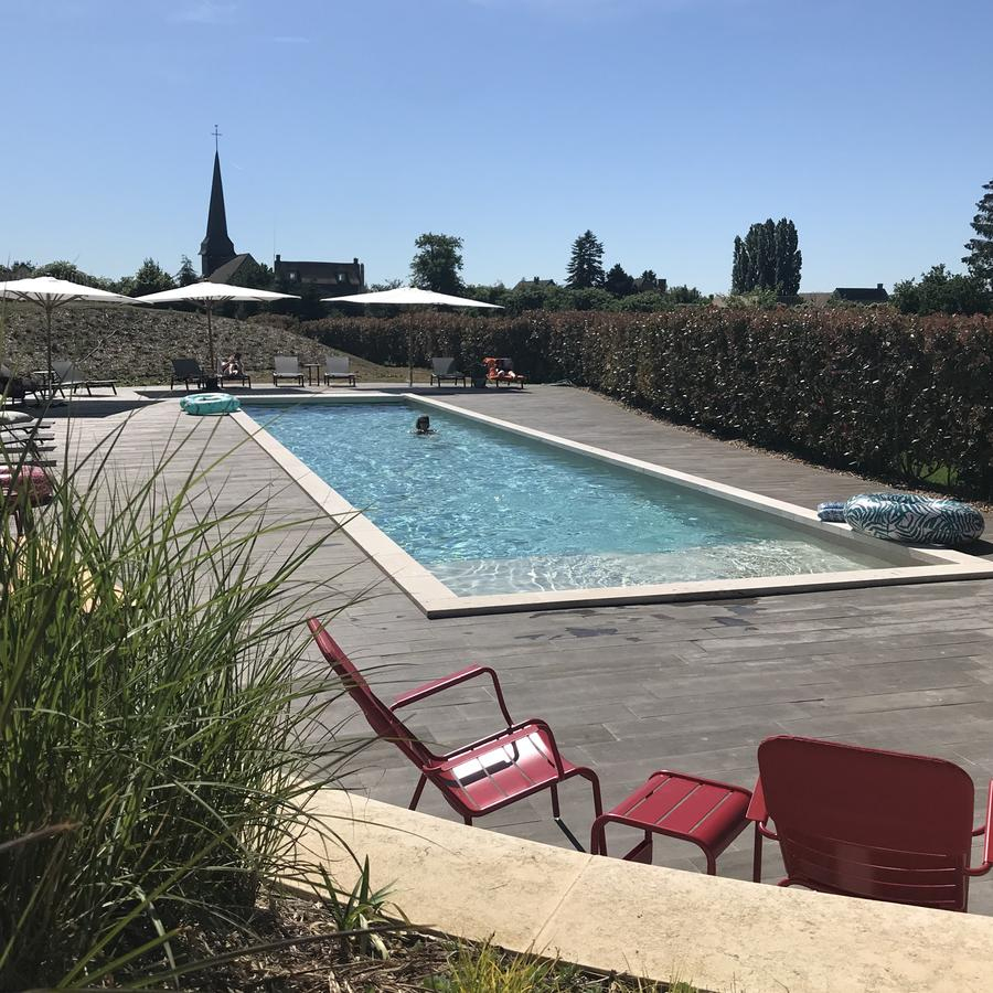 Hotel Manoir De Surville, France - Booking avec Piscine Louvier