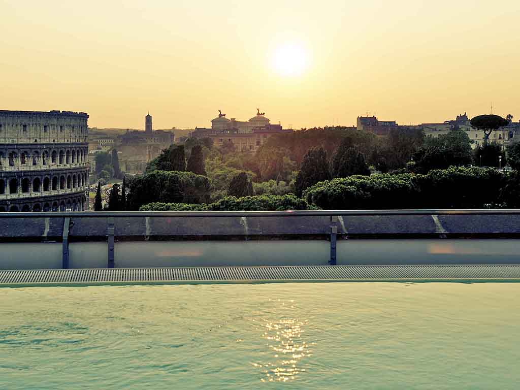 Hotel Mercure Rome Centre Colisée - All à Hotel Rome Avec Piscine