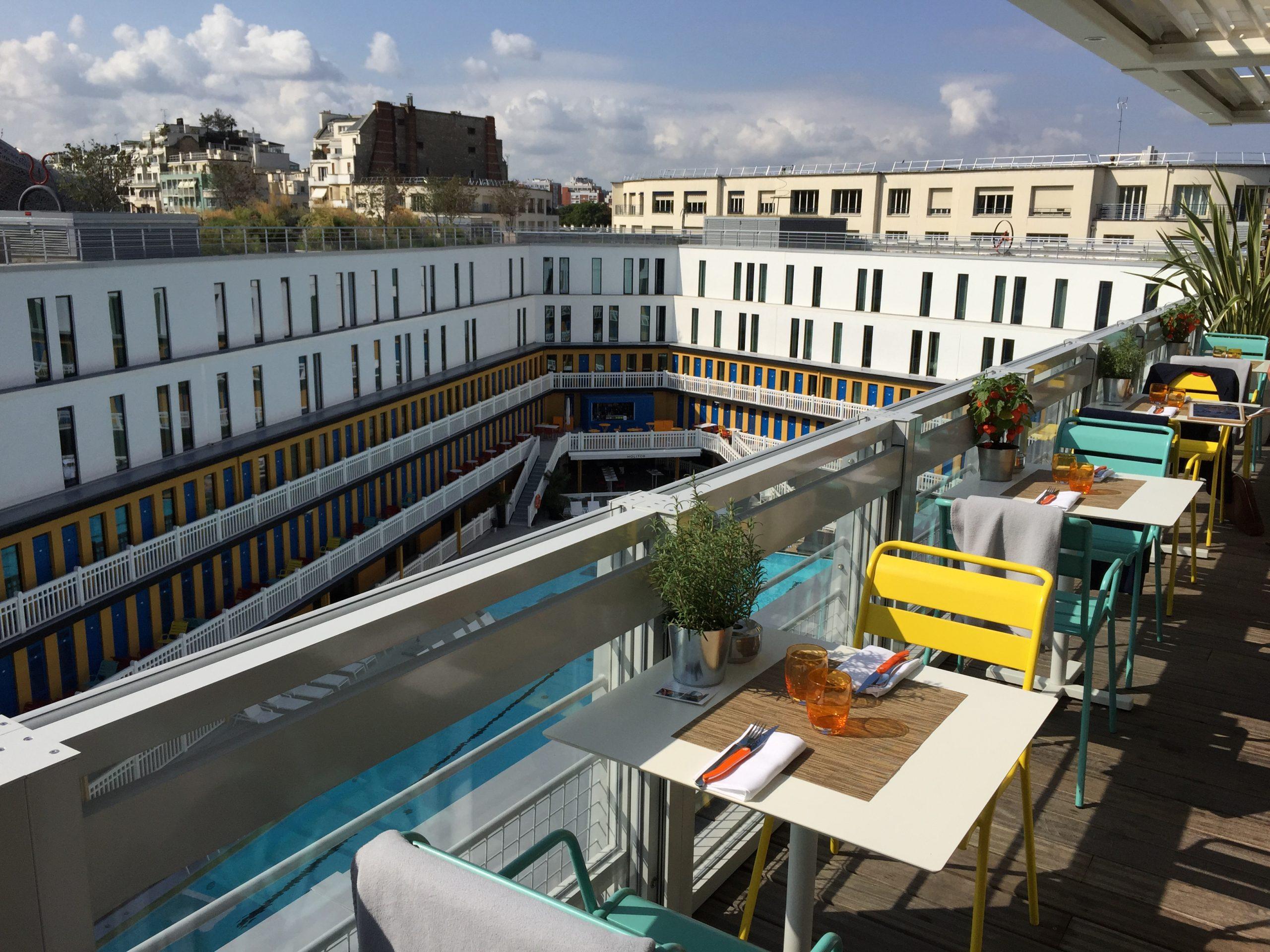 Hotel Molitor Mgallery Restaurant – Fancy Oli tout Restaurant Piscine Molitor