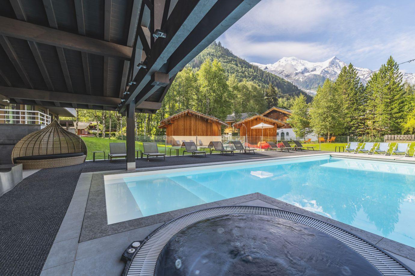 Hôtel Piscine Chamonix - Le Refuge Des Aiglons**** à Piscine De Chamonix