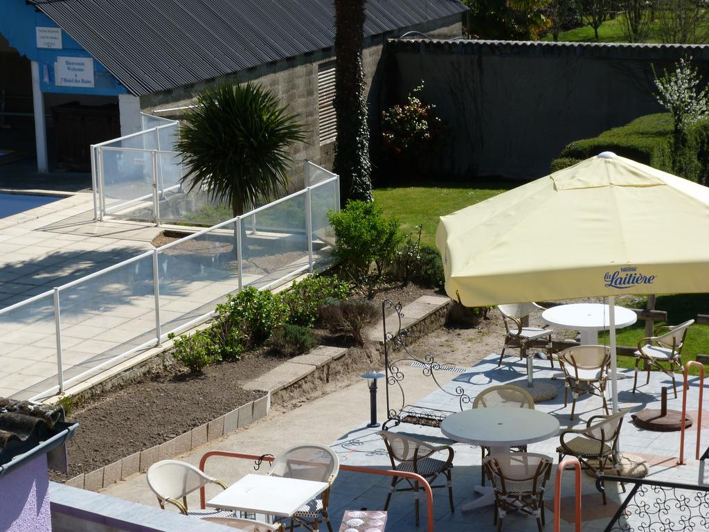 Hotel Restaurant Des Bains (Fransa Saint-Jean-Le-Thomas ... tout Piscine Avranches