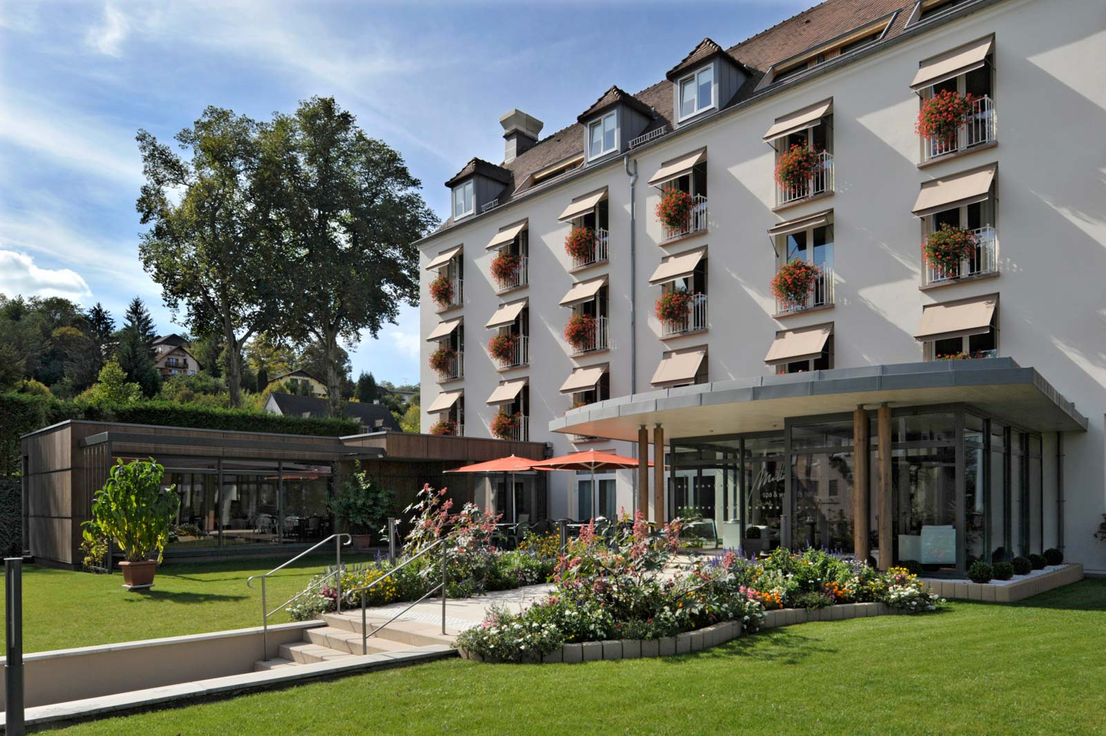 Hotel-Restaurant Muller Niederbronn Les Bains | Massif Des ... destiné Piscine Niederbronn