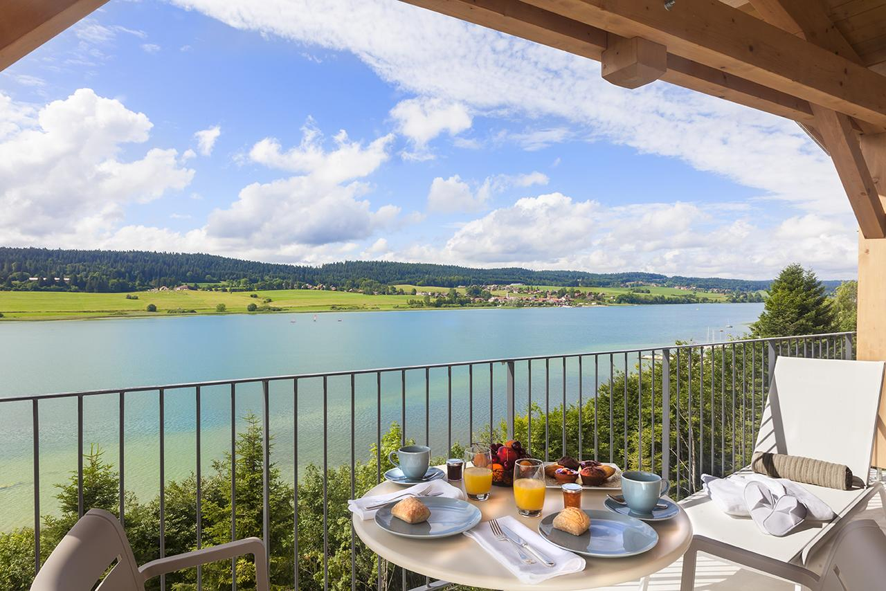 Hotel Spa Les Rives Sauvages, Malbuisson, France - Booking encequiconcerne Piscine Malbuisson