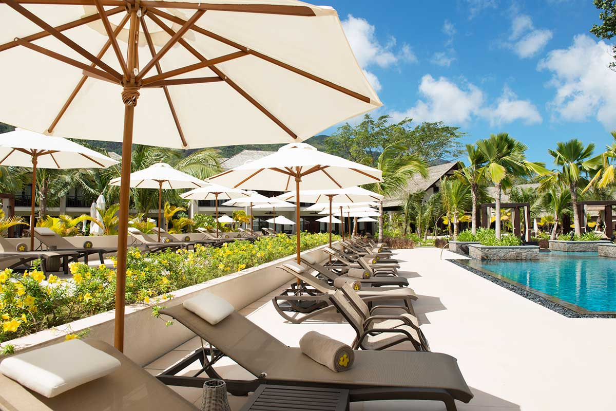 Hotel The H Resort Beau Vallon Beach Sejour Seychelles Avec ... concernant Piscine Frais Vallon