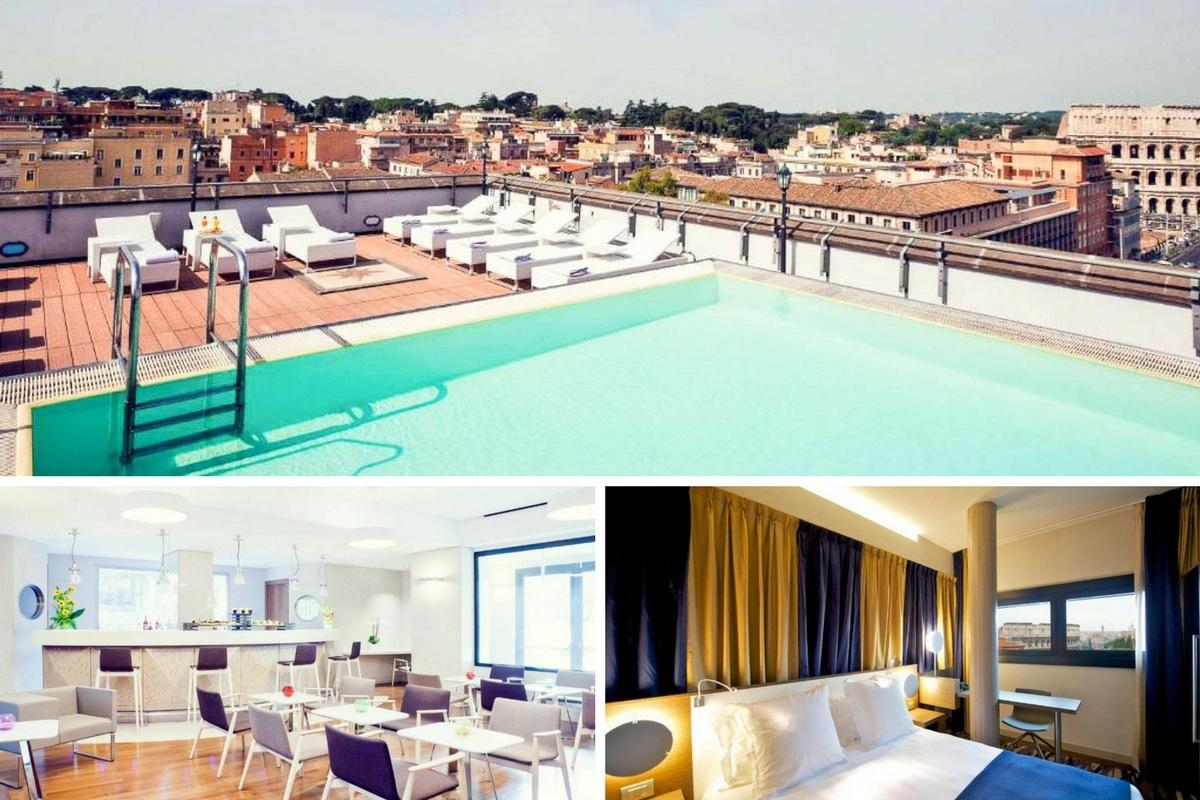 Hôtels À Rome Avec Piscine : Notre Sélection D'hébergements dedans Hotel Rome Avec Piscine