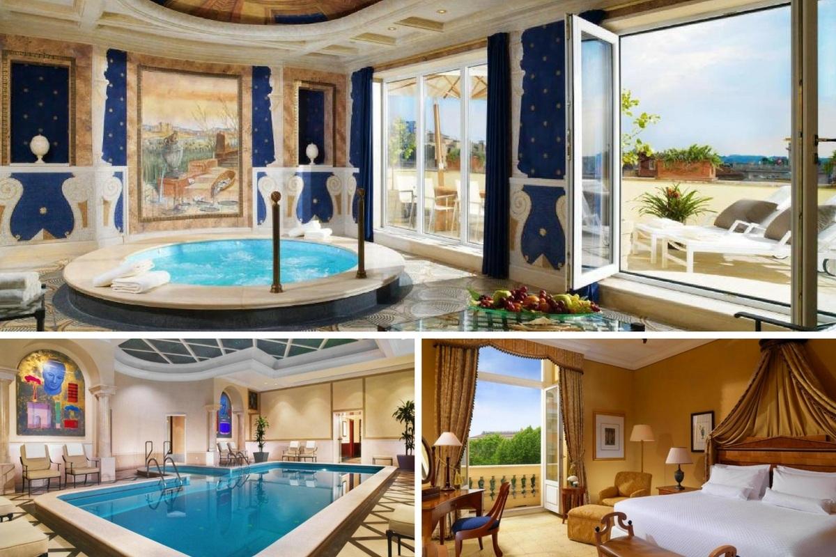 Hôtels À Rome Avec Piscine : Notre Sélection D'hébergements destiné Hotel Rome Avec Piscine