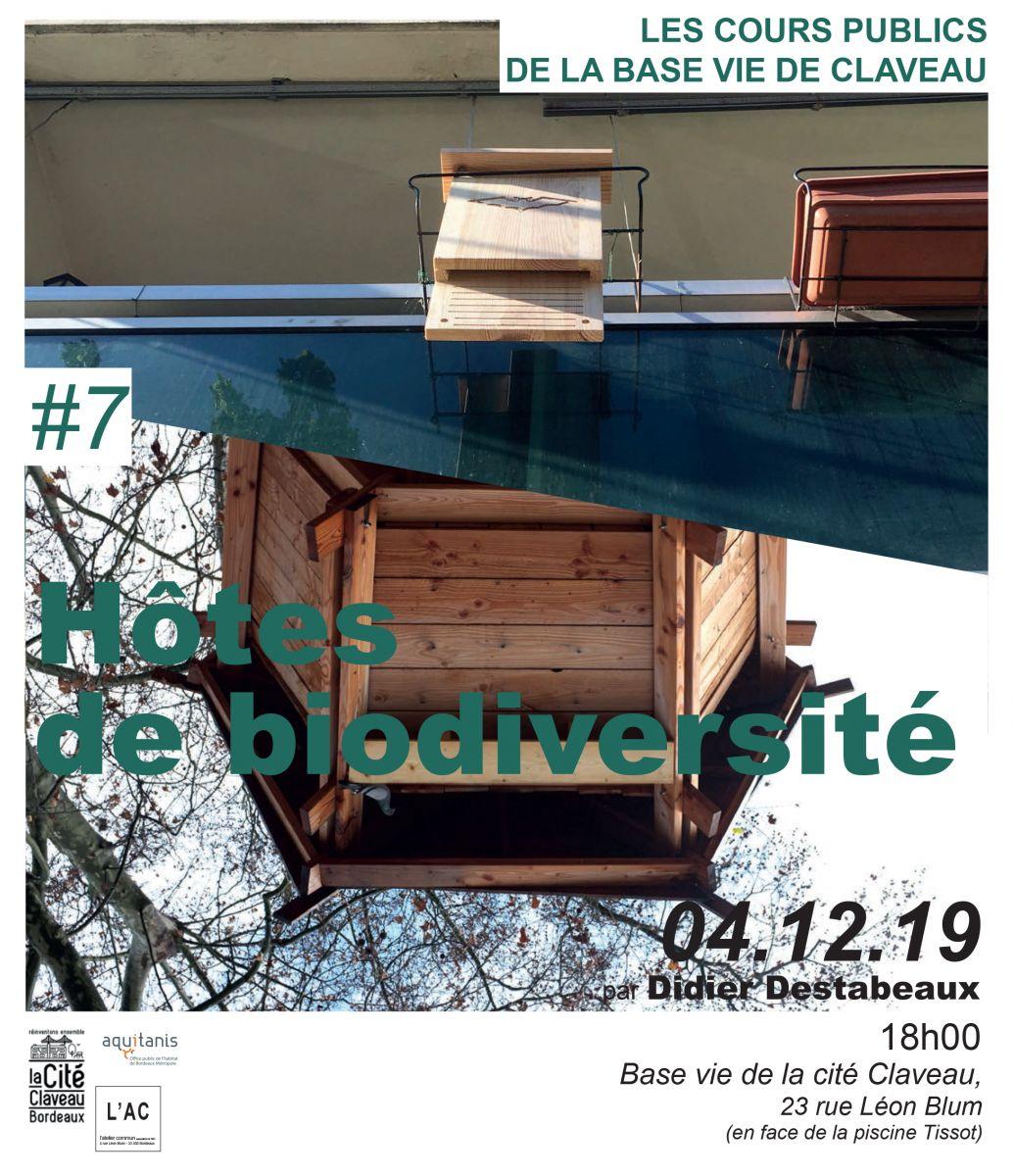 Hôtes De Biodiversité Par Didier Destabeaux - Aquitanisphere à Piscine Ambes