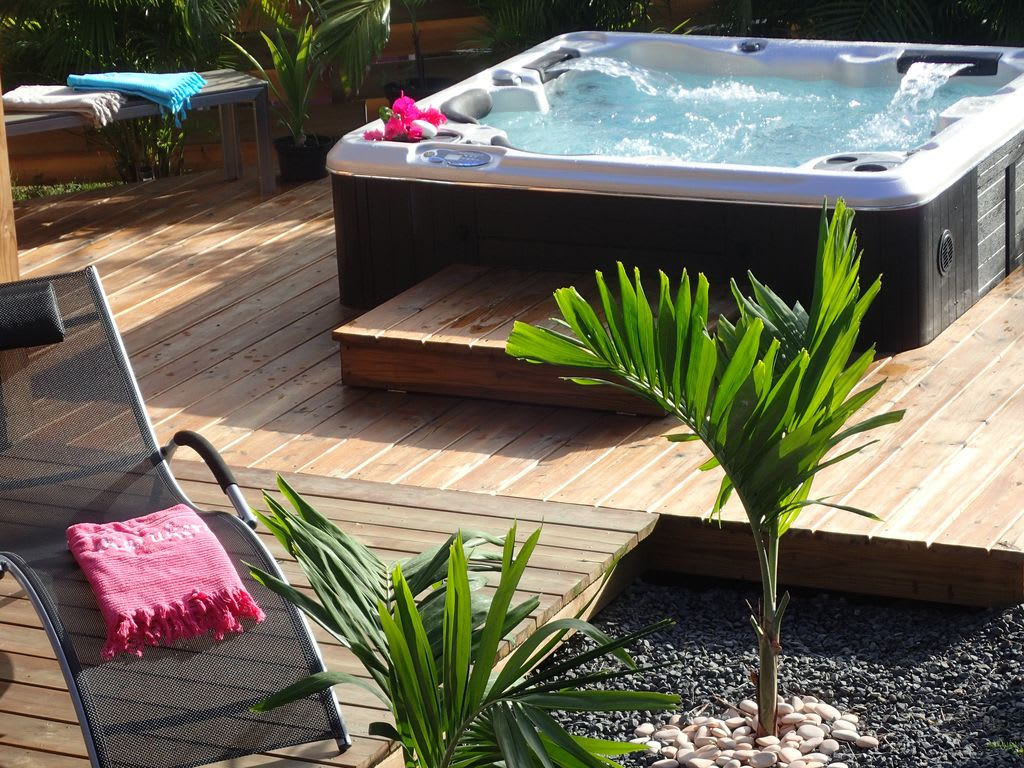 House / Apartment Villa Exceptionnelle 5,piscine, Jaccuzi, 3 ... serapportantà Piscine Saint Francois