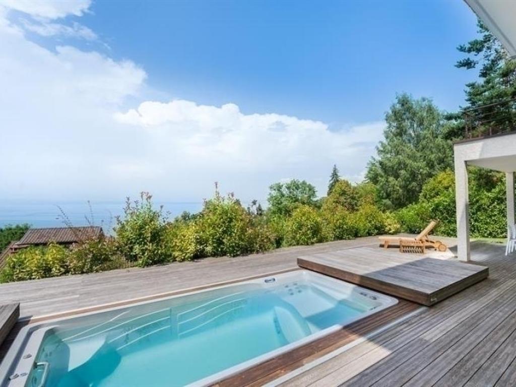 House Exclusif: Villa De 6 Chambres Avec Piscine Balnéo Et ... tout Piscine Annemasse