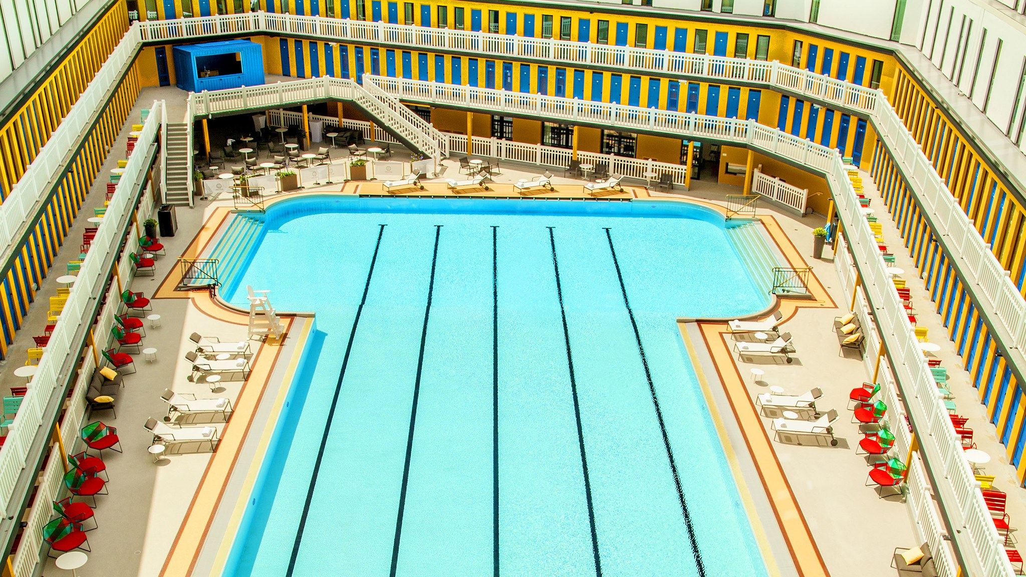 How Piscine Molitor, Paris's Most Famous Pool, Became A ... avec Hotel Paris Piscine