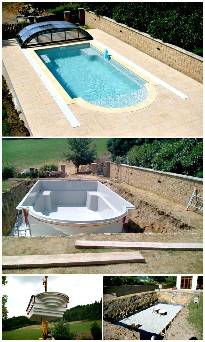 How To Installation Swimming Pool - 12 Low Budget Diy ... tout Comment Faire Une Piscine