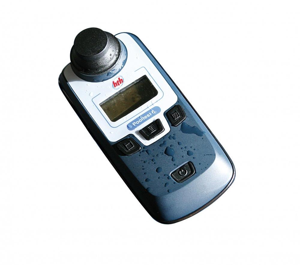 Hth Pooltest 6 - Photometre intérieur Photomètre Piscine