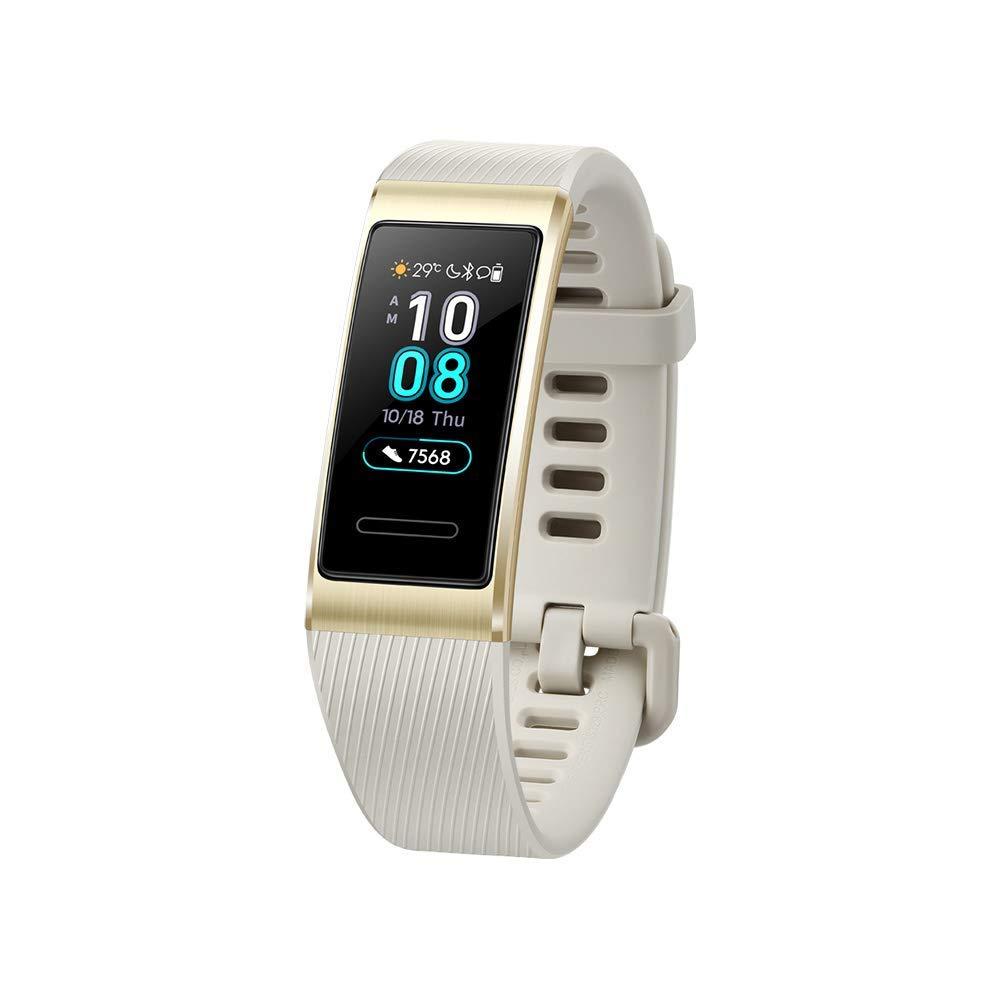 Huawei Band 3 Pro Noir - Bracelet Connecté (Gps, Ecran Tactile, Rythme  Cardiaque, Résistance 5Atm, Autonomie Jusqu'à 14 Jours) tout Bracelet Connecté Piscine