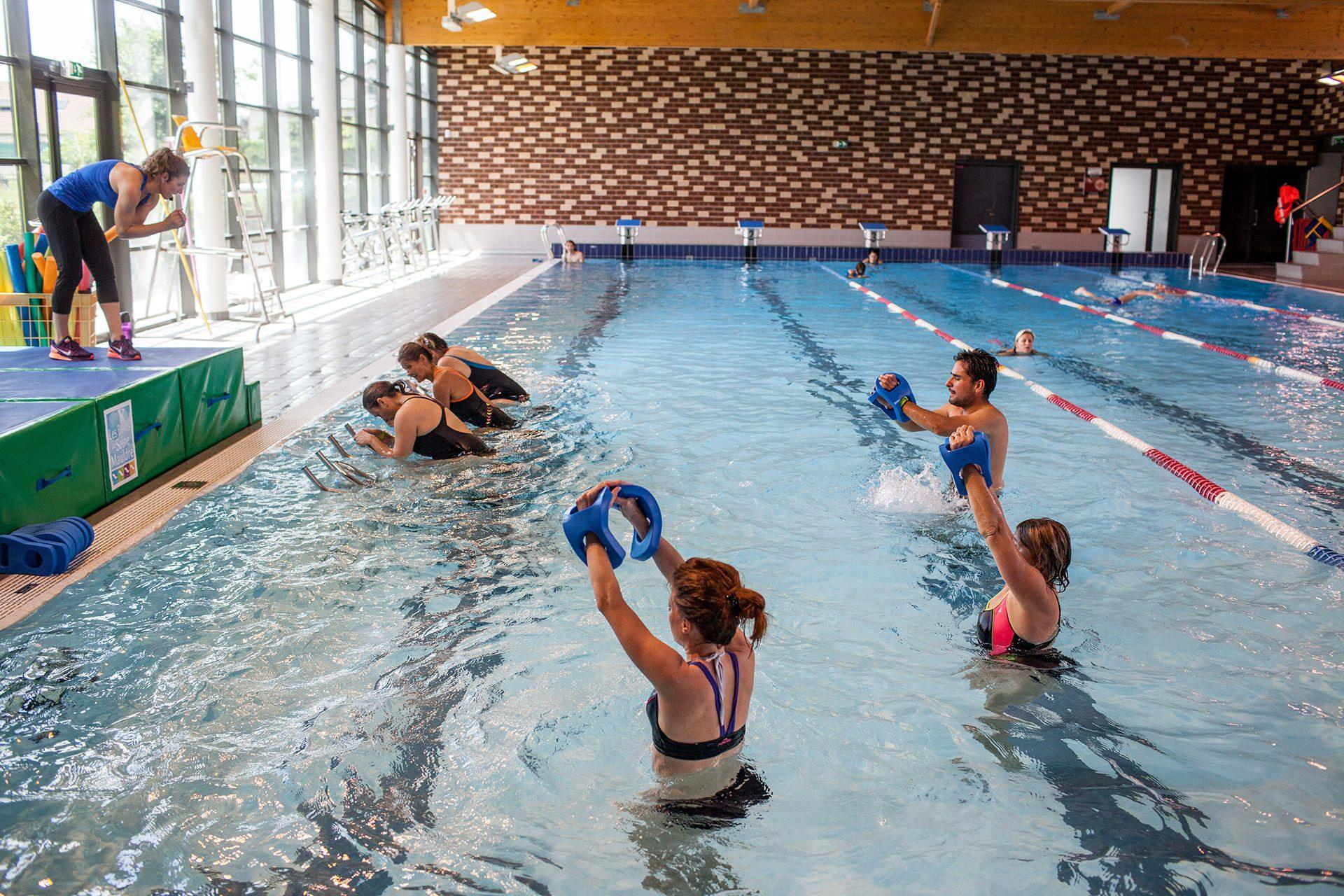Hydro Training — Activité Aquatique • Les Bains De Seine Mauldre concernant Piscine Aubergenville
