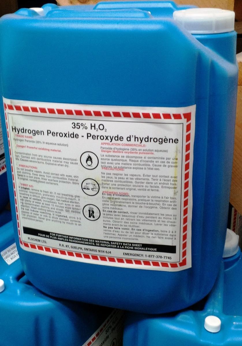 Hydrogen Peroxide 35% - Oxidizer dedans Peroxyde D Hydrogène Pour Piscine