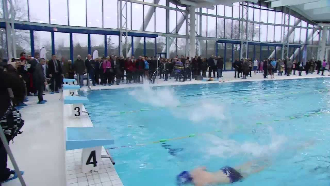 Inauguration Aquasud dedans Piscine Aquasud