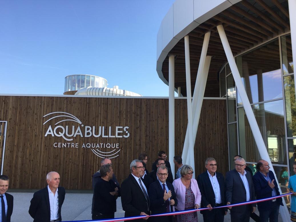 Inauguration Complexe Aquatique De St Fulgent (85) pour Piscine Saint Fulgent