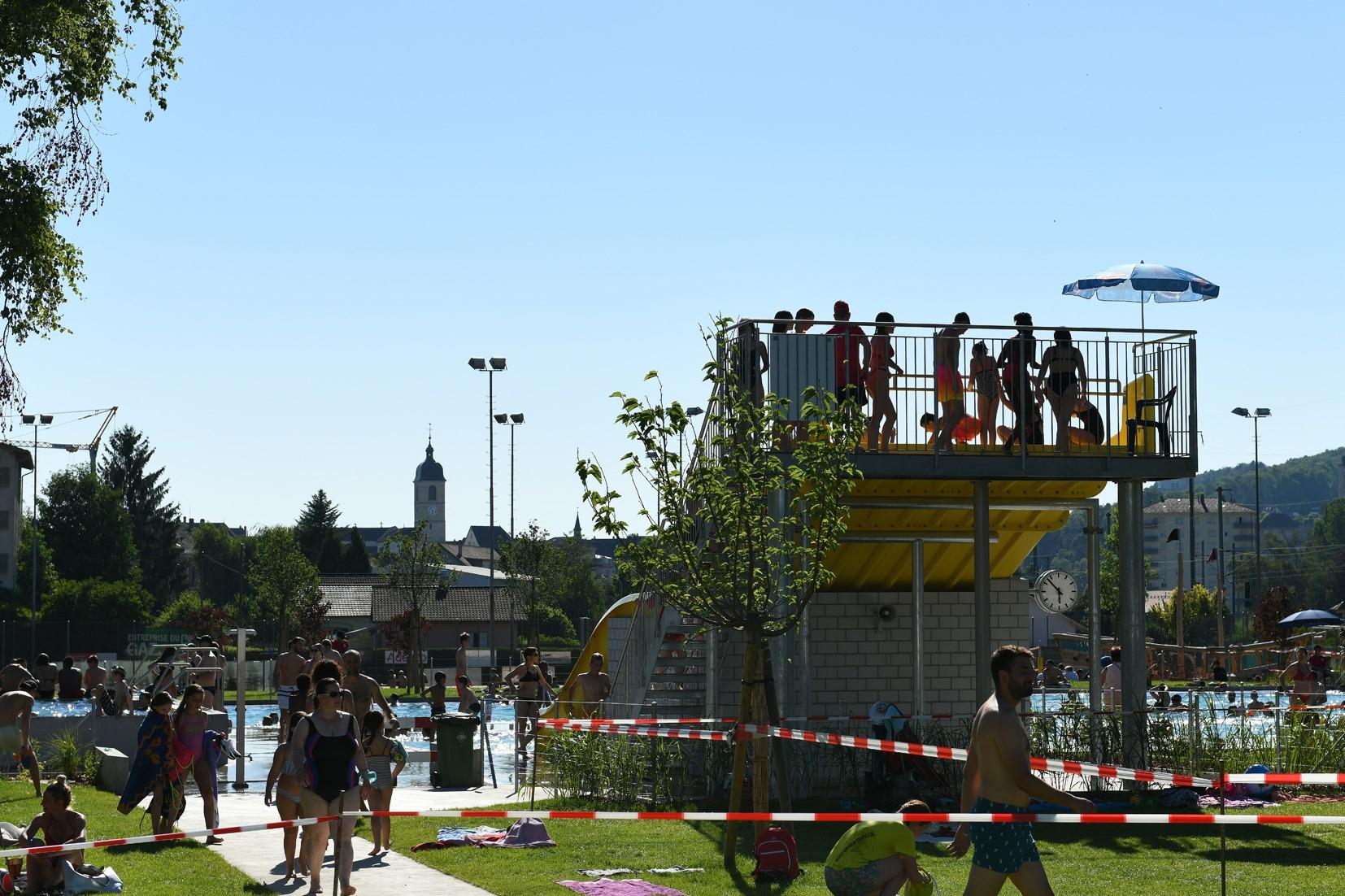 Inauguration De La Piscine Municipale | Ville De Porrentruy concernant Piscine Porrentruy