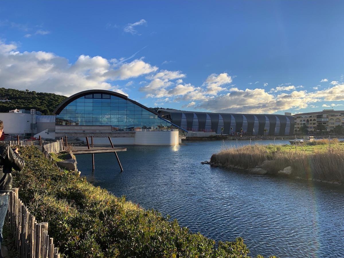 Inauguration Du Bassin Olympique Du Centre Balnéaire Raoul ... encequiconcerne Piscine Fonquerne Sete