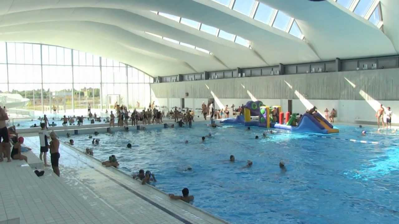Inauguration Du Centre Aquatique Du Val D'europe à Piscine Bailly Romainvillier