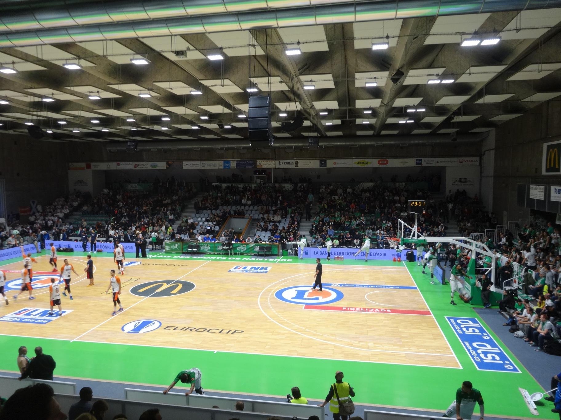 Inauguration Du Nouveau Palais Des Sports Maurice Thorez ... pour Piscine Du Palais Des Sports À Nanterre Nanterre