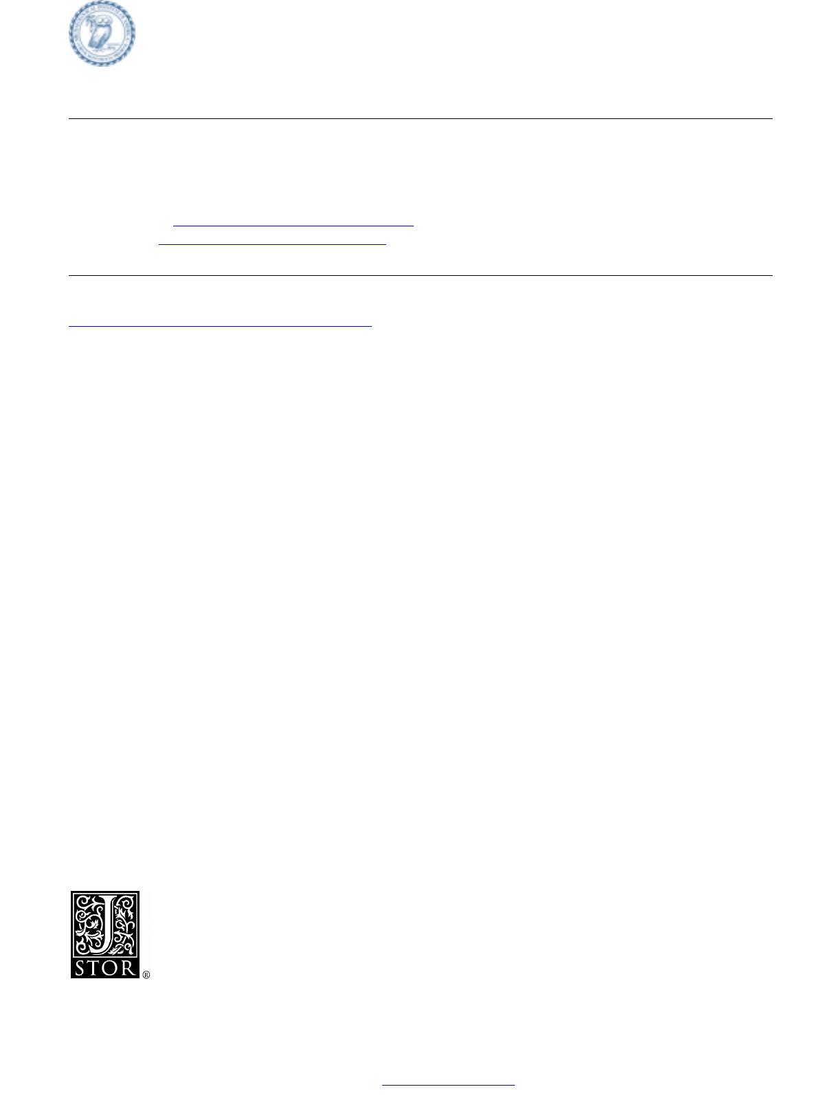 Index To Volumes 1-10. 1897-1906 || Index To Volumes 1-10 ... encequiconcerne Piscine Stuart Mill Avignon