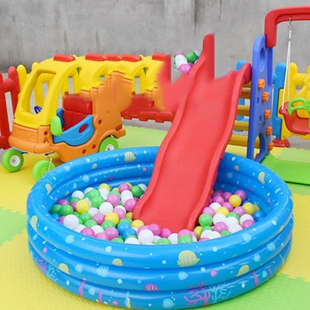Inflatable Baby Swimming Pool Crocks Portable Piscine ... destiné Piscine Autostable