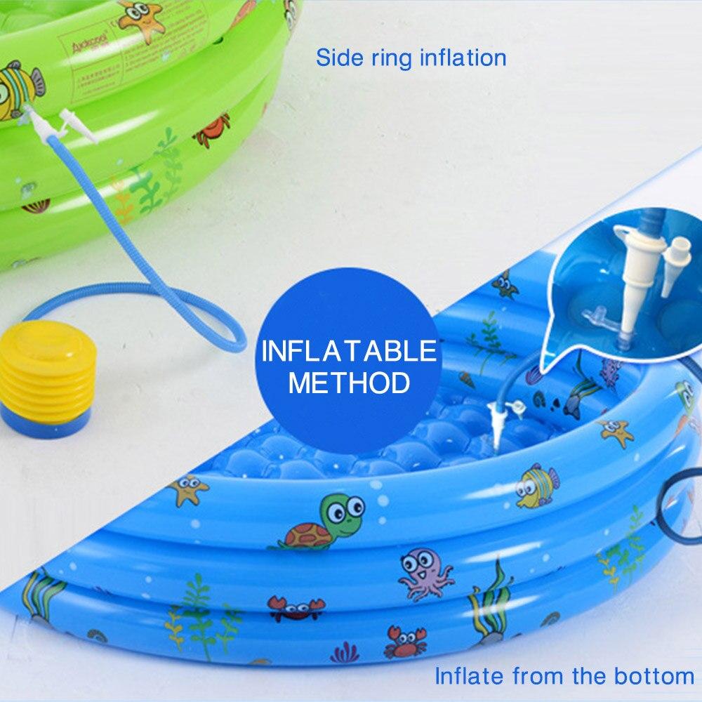 Inflatable Baby Swimming Pool Crocks Portable Piscine ... serapportantà Piscine Autostable
