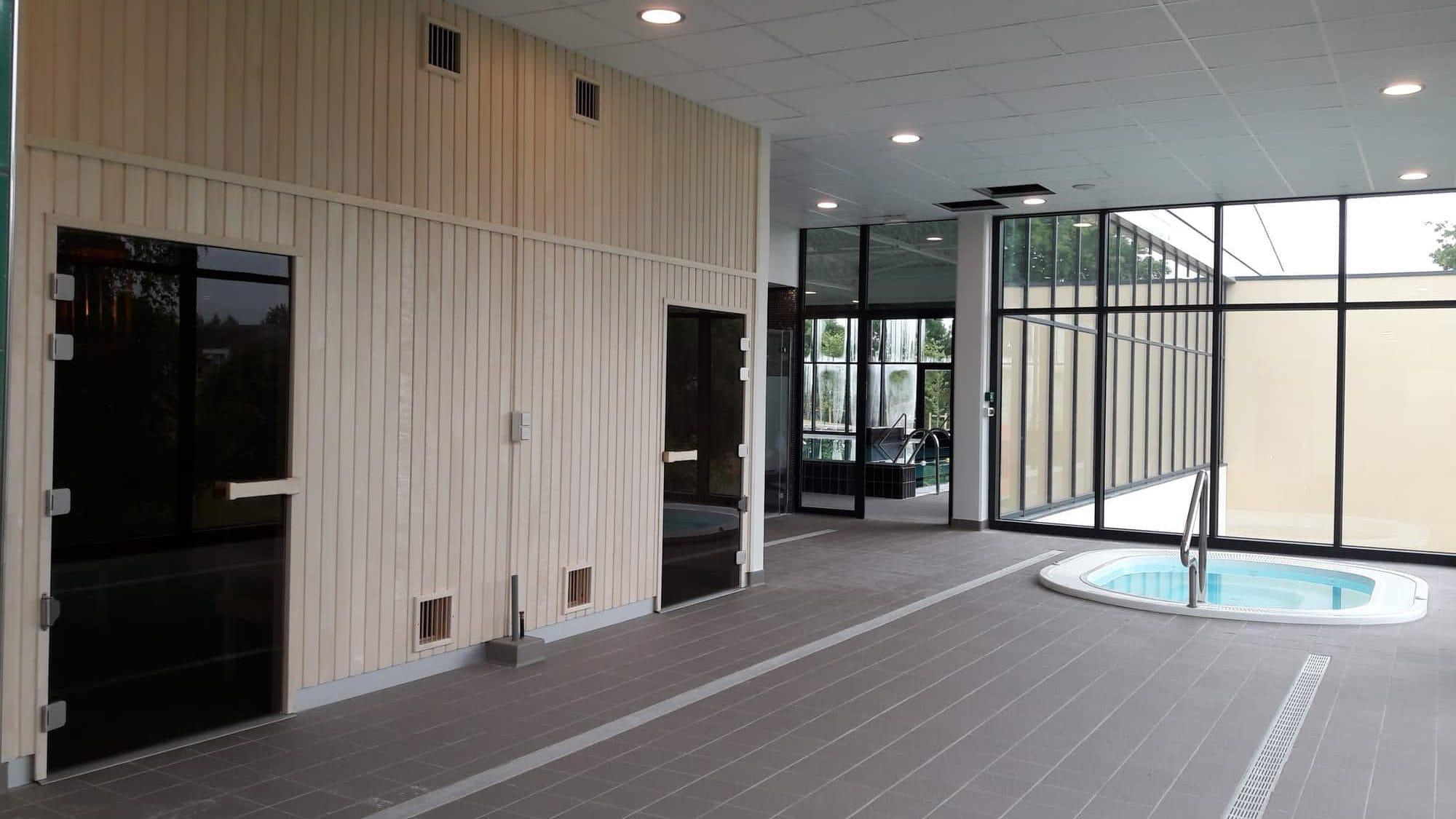 Installation De 2 Sauna Et 1 Hammam À Dampierre-En-Burly ... intérieur Piscine De Dampierre En Burly
